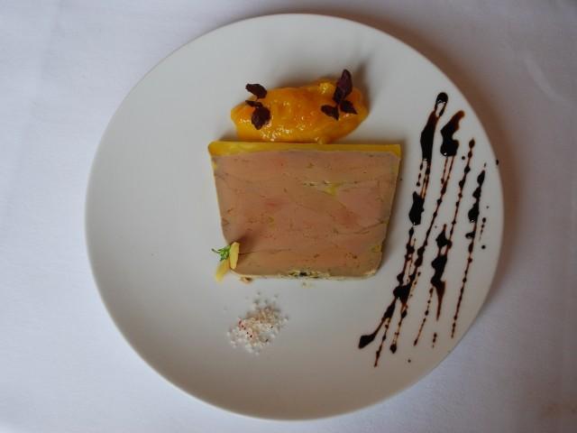 Le Lamarck Foie gras de canard au poivre long et Chutney de mangue - Antoine Versini - Le Lamarck